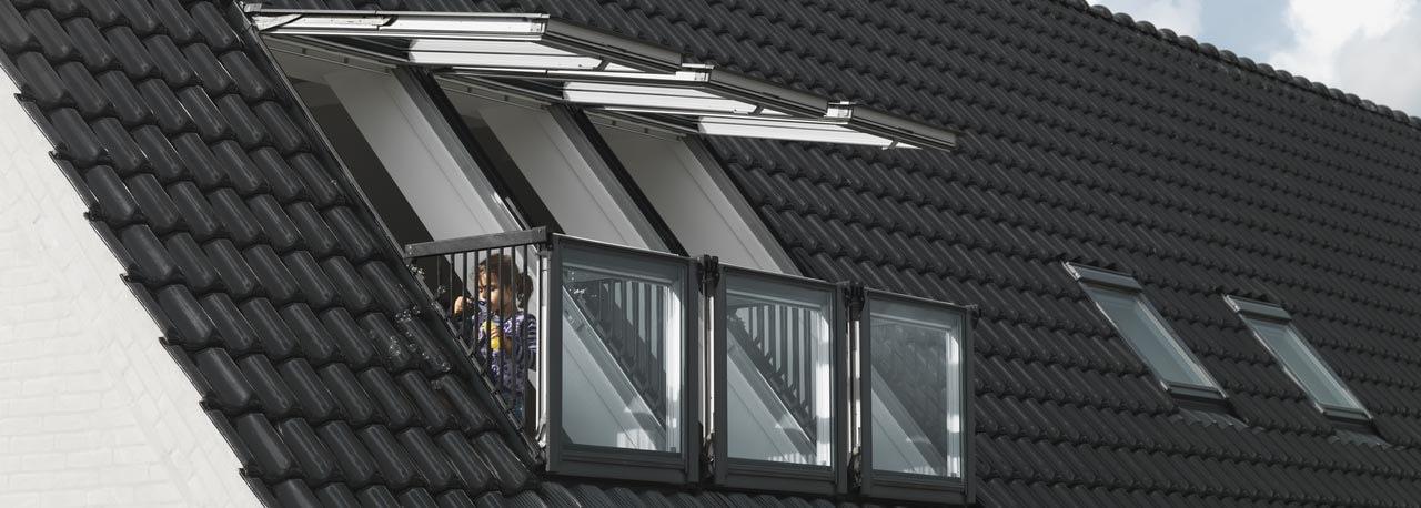 finestre e balconi per tetti